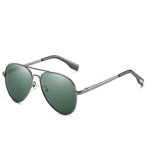 DZBMY Sonnenbrillen Classic Pilot Herren Damen Polarisierter Metallrahmen Sonnenbrille Spiegellinse Driving Eyewear UV400