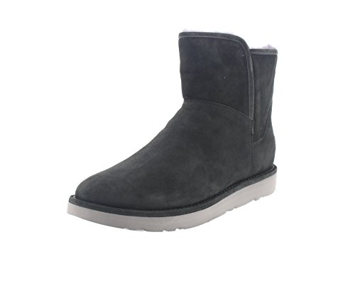 Abree Mini Stiefel, Grau, 38 EU (Ugg Mit Reißverschluss)