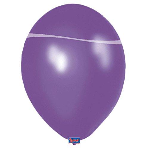 Folat Lila Ballons, 20 Stück