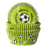 Muffinförmchen Goal - Fußball, 50 Stück
