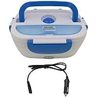 Loonbonnie Calentador eléctrico Multifuncional portátil del Coche Enchufe calefacción Caja de Almuerzo de arroz contenedor de Alimentos Oficina hogar Calentador de Alimentos 12 V