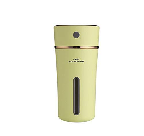 Umidificatore D'Aria Ricaricabile 500Ma Batteria Al Litio Incorporata Mini Umidificatori Per Auto Led Light Ultrasonic Mist Maker W3