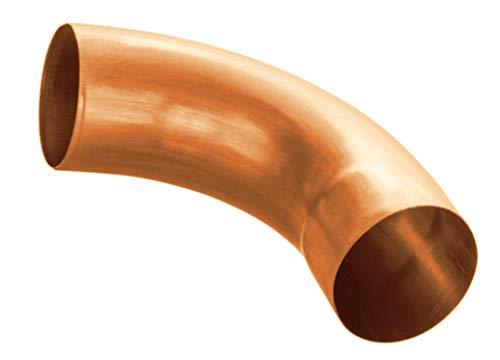 Regenrohrbogen 72° Kupfer in den Größen 60, 76, 80, 87 und 100 mm (80 mm)
