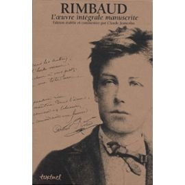 Rimbaud, l'oeuvre intégrale manuscrite Coffret 3 volumes