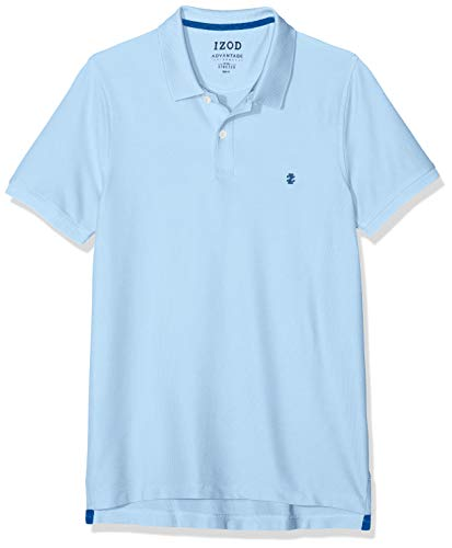 Izod Herren Performance Pique Polo Poloshirt, Blau (Placid Blue 483), X-Large (Herstellergröße: XL) - Performance Pique Polo Golf