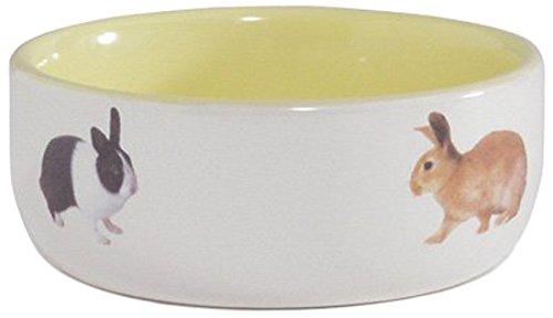 beeztees-rabbit-feeding-bowl-ceramic-yellow