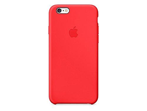 Apple MKXR2ZM/A iPhone 6/6S Leder Hülle braun rot