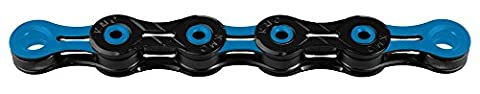 KMC X-11 SL DLC Bicycle Chain blue/black 2016 7 speed chain