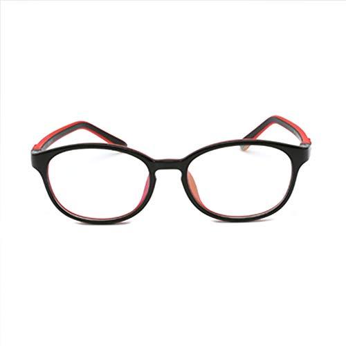 Teens Reading EyewearAnti, Weiche Silikonmode Nicht Verschreibungspflichtige Klare Linsen Brillengestell Brillen Für Kinder/Anti Augen Müdigkeit Brillen (Junge/Mädchen)-4