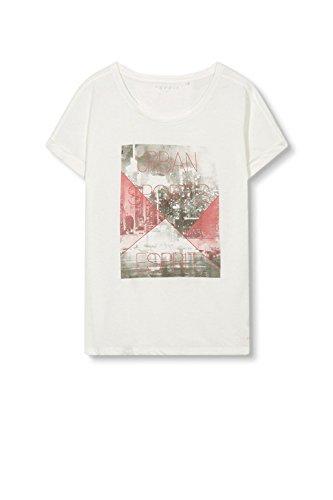ESPRIT Sports Damen T-Shirt Weiß (Off White 110)
