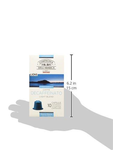 Caffè Corsini Caps Compatibili Nespresso Decaffeinato - 60 Capsule (6 Confezioni da 10 capsule)