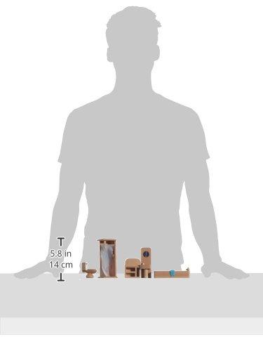 Imagen principal de Beluga 70118  - Muebles de madera para el cuarto de baño de casa de muñecas