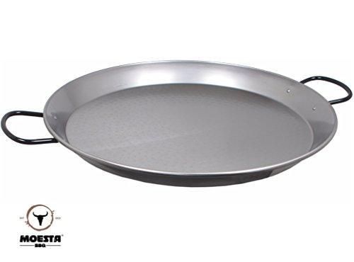 Moesta-BBQ Paella Pfanne aus Stahl (55 cm)