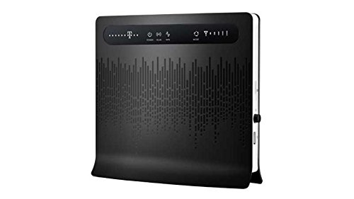 Price comparison product image Huawei B593s-22 LTE / 4G Unlocked UK Plug Wireless Router- Black-(150 mbps)