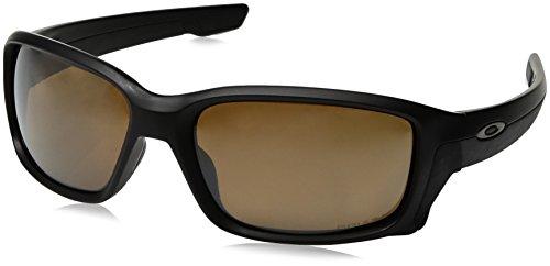 Oakley Herren Straightlink 933113 58 Sonnenbrille, Schwarz (Matte Black/Prizmtungstenpolarized)