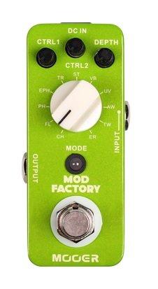 Mooer Mod Factory – Pedal de modulación para guitarra eléctrica