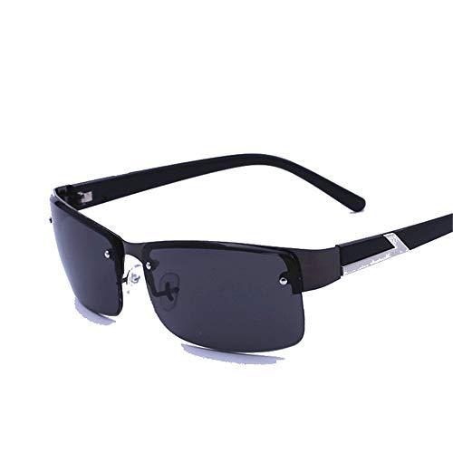 Yiph-Sunglass Sonnenbrillen Mode Herren und Damen Herren Sonnenbrillen Movement Box kopiert die Sonnenbrille Angeln Radfahren Outdoor-Sport Brillen Sonnenbrillen (Farbe : Schwarz, Größe : Free Size)