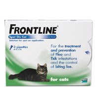 Frontline Spot On Cat Spot On Solution (3 Pack) from Merial