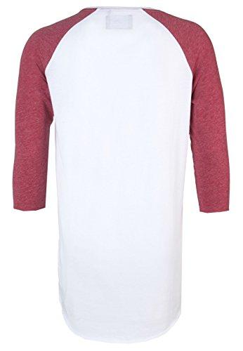 Sky Rebel Herren College-Shirt 3/4-Arm JOSH   Basic Longsleeve mit Rundhals-Ausschnitt - 2