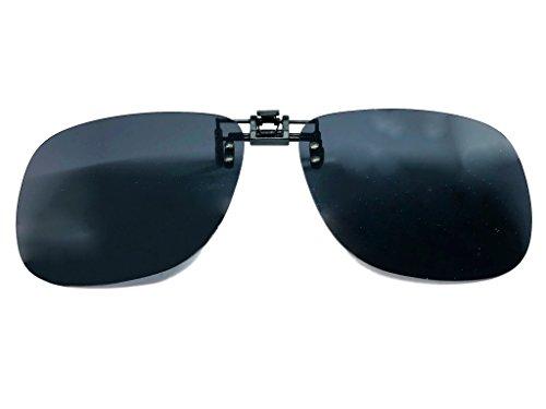 Clip para gafas POLARIZADAS universal - Unisex (Gris)