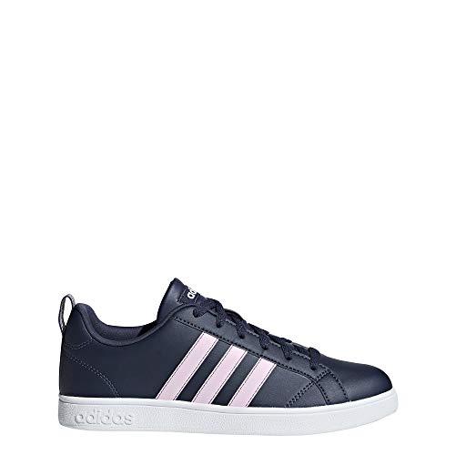 adidas Vs Advantage, Scarpe da Tennis Donna, Blu Trablu/Aerpnk/Ftwwht, 40 EU