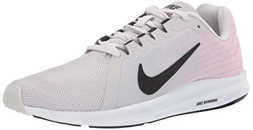 Nike Damen Downshifter 8 Leichtathletikschuhe Mehrfarbig (Vast Grey/Black/Pink Foam/White 013) 40 EU