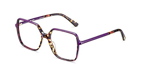 Etnia Barcelona - Monture de lunettes - Femme Marron Dunkel Havana - Lila 55 8fd50dd23301