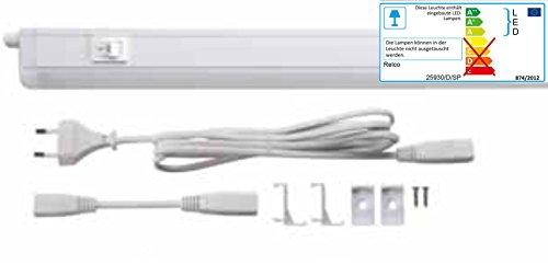 LED Lichtleiste Küche Schrank Leuchte 4 Watt neutralweiß 840 Unterbau-/ Einbauleuchte
