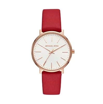 Michael Kors Reloj Analógico para Mujer de Cuarzo con Correa en Cuero MK2784