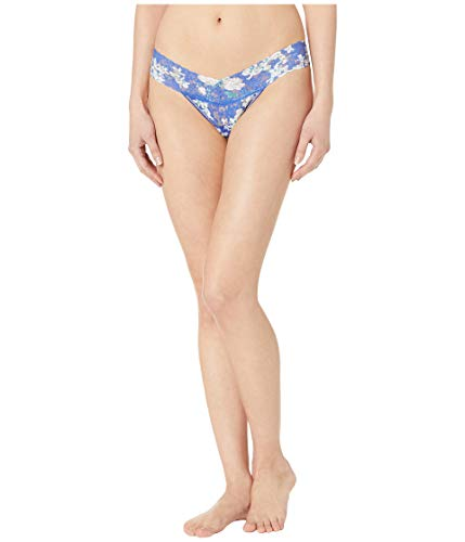 Petite Low Rise Thong (Hanky Panky Women's Petite Signature Lace Low Rise Thong White Thongs One Size)