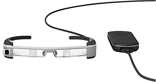 Epson Moverio BT-300 halbtransparente Multimedia-Brille (Augmented Reality (AR) Smart-Brille mit...