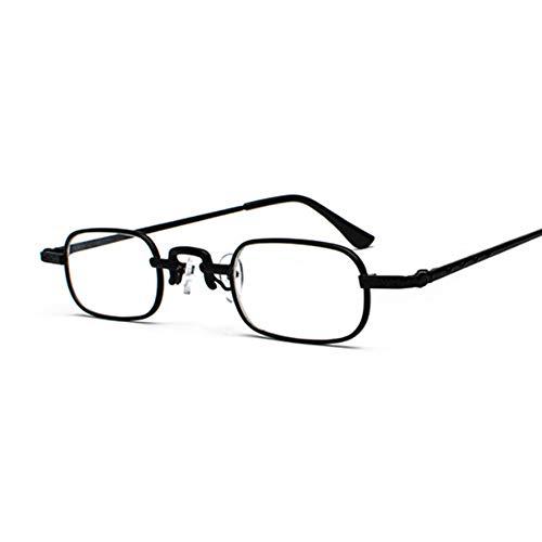 CUYAG Sonnenbrillen Retro Kleine Quadratische Metall Steampunk Sonnenbrille Frauen Männer N Brille Designer Vintage Sonnenbrille Weiblich B