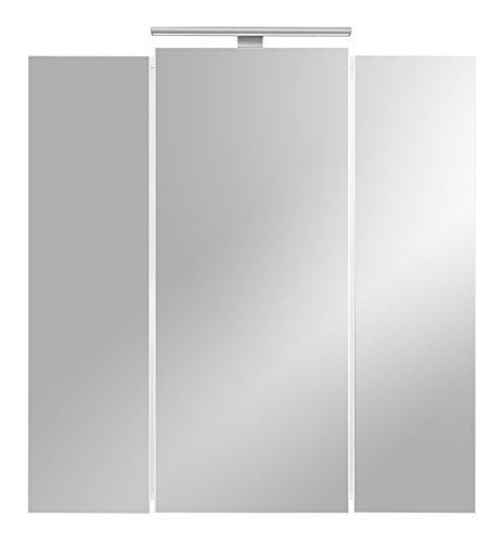 Spiegelschrank mit Beleuchtung von Posseik,weiß - 4