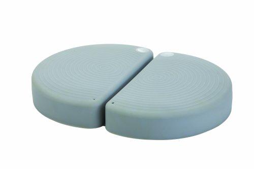 Togu Aero-Step functional, Silber-Grau (Perfect Shape Set mit DVD) XL Fitness- und Koordinationstrainer