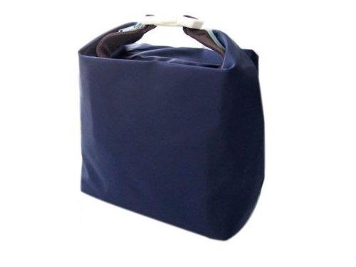 Carino Utile Lunch Box Sacchetto isolato Borsa termica Blu Scuro Scuro Blu