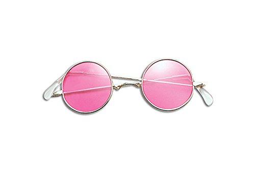 Lennon Glasses. Pink Accessory Fancy Dress