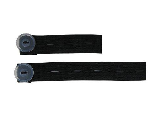 Be! Mama - Schwangerschaftsgürtel aus PU für Hosen (3-25 cm) - Schwarz