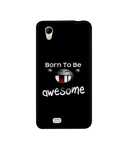 Casotec Quotes Design Canvas Printed Soft TPU Back Case Cover for Gionee Ctrl V4s  available at amazon for Rs.349