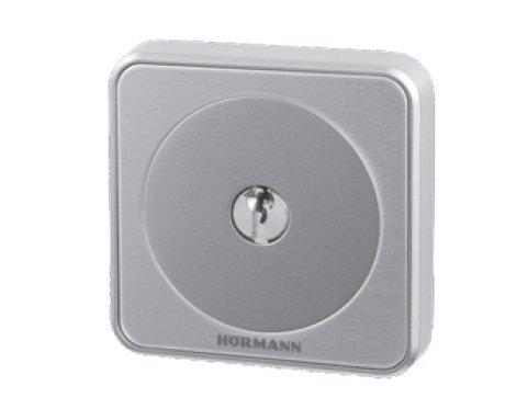 Hörmann 4511648 Schlüsseltaster/Schlüsselschalter STUP50 ~ überzeugt durch exklusives Design und 100% ige Kompatibilität, in Unterputzausführung ~ inklusive 3 Schlüssel