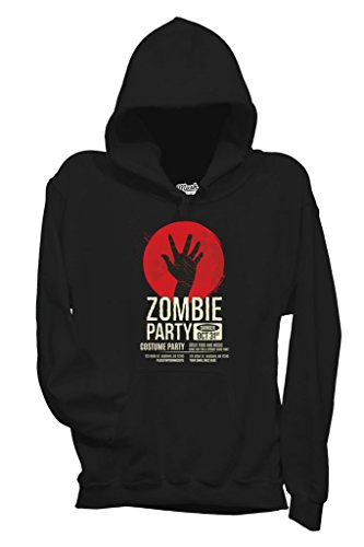Sweatshirt Zombie Party - LUSTIG by Mush Dress Your Style - Damen-S-Schwarz