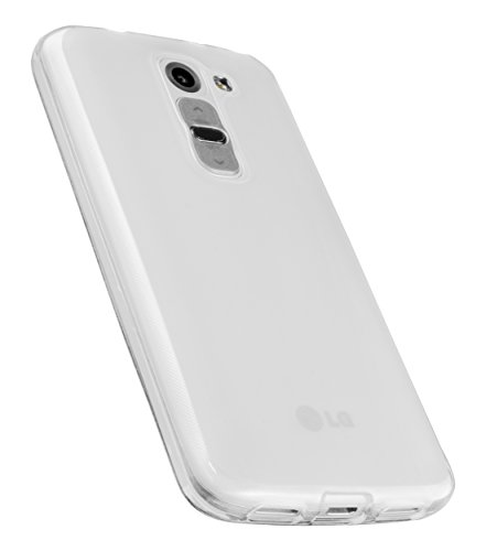 mumbi Schutzhülle für LG G2 Mini Hülle transparent weiss