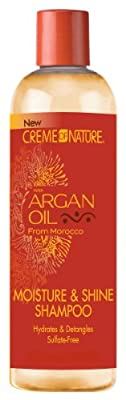 Creme of Nature Argan Oil Shampoo 355 ml (Pack of 6)