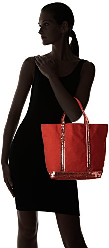 Vanessa Bruno Damen Cabas Moyen Einkaufstasche, 16 x 30 x 43 cm Braun (Sienne)