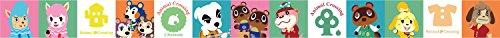 Animal Crossing Schreibwaren Serie Abdeckband C (Rolle) Höhe 1,5 cm