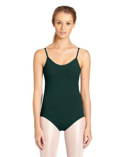 Gymnastikanzug Lycra Kostüm - Capezio Damen Gymnastikanzug, V-Ausschnitt - Grün - Large