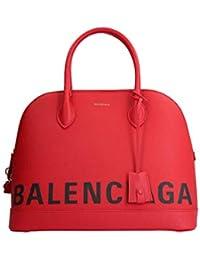 Balenciaga Mujer 5190360OT0M6513 Rojo Cuero Bolso De Mano