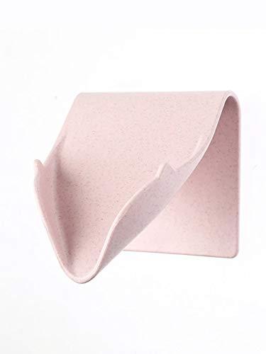 Niuzimu Creative Soap Box, Drain Box sin jabón empotrable montado en la...