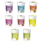 Kit 8 Colorants alimentaires aux Arômes de fruits...