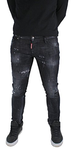 ae102e96fe15eb DSquared2 Clement Jean S74LB0042 jeans Dsquared D2 Homme Made In italy  Stretch D