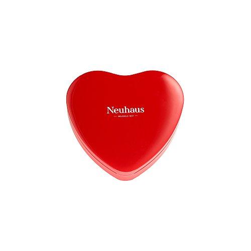 Roten Mit Schokolade Herzen Dunkle (Neuhaus Rotes Metall Herz, 130 g)